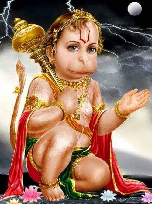 Baby Hanuman