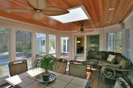Backyard Porch Designs sun porch design ideas columbus decks porches and patios by archadeck Closed In Porch Ideas Mediterranean Architecture And Design Porches Pinterest Skylights Pools And Porches