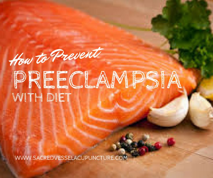 Nutrition and Diet for Gestational Hypertension and Preeclampsia