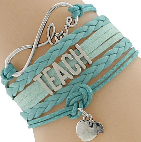 Infinity TEACH Rope Bracelet