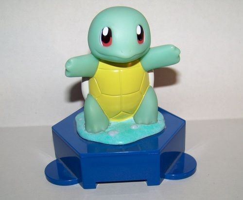 Pokemon coin bank  Squirtle approx. 6 inches tall Applause