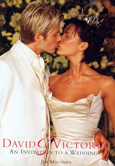 When the artist formerly known as Posh Spice married soccer player David Beckham in 1999, she did so in a structured, ballgown-skirted Vera Wang; the trend-setting star may very well have played a role in the subsequent ubiquity of the strapless wedding dress.