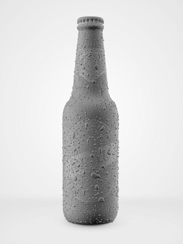 3D CGI Bottles on Behance