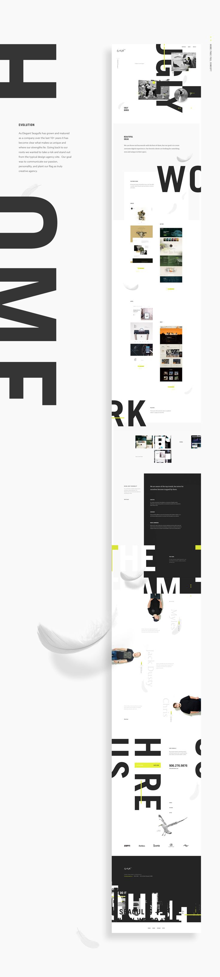 As Elegant Seagulls has grown and matured as a company over the last 10+ years it has become clear what makes us unique and where our strengths lie. Going back to our roots we wanted to take a risk and stand out from the typical design agency site. Our go…