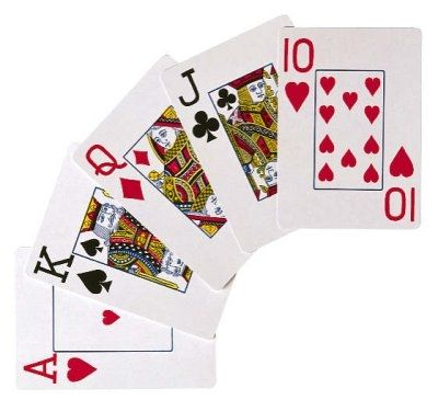How many decks of cards are there in blackjack