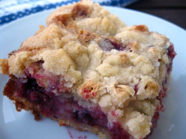 Blackberry pie bars | Sweet Stuff | Pinterest