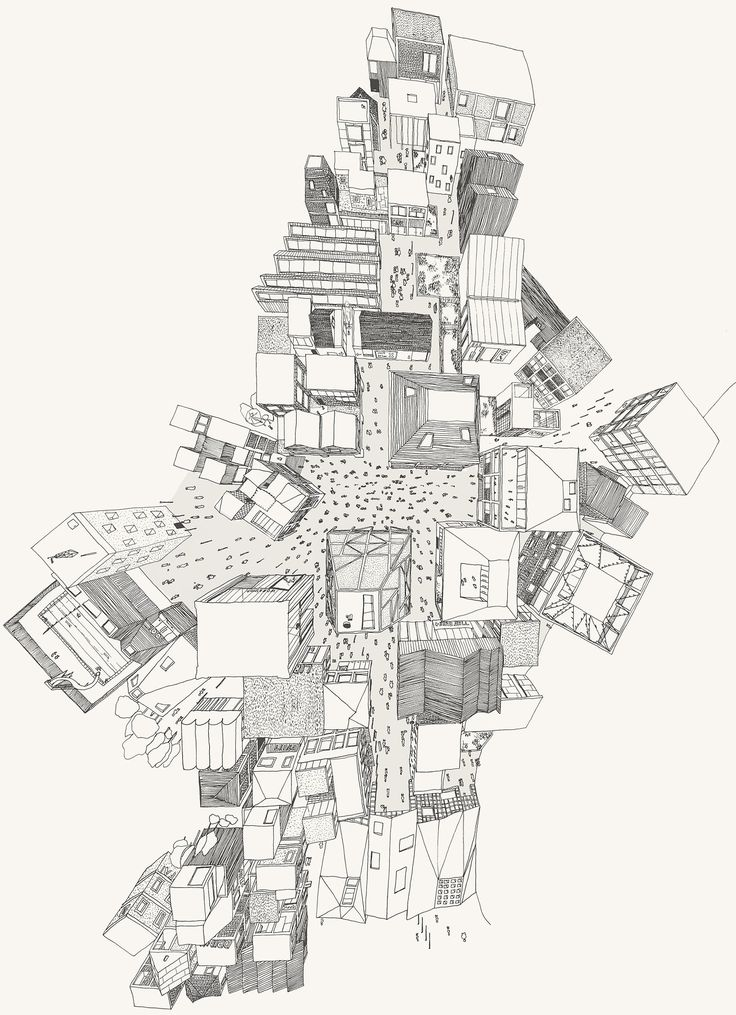 A Future High Street (Hand drawn perspective) by Neil Michels, Studio 7, Sheffield School of Architecture The project starts by removing the use class orders governing planning within the UK and...