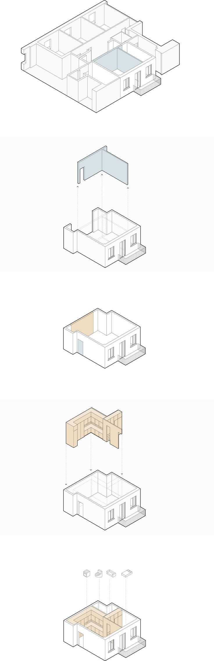 DIA_AXO_Terzi Beduschi architetti · 0108 · Architettura italiana