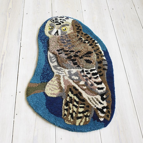 22 Best Images About Owl Rug On Pinterest