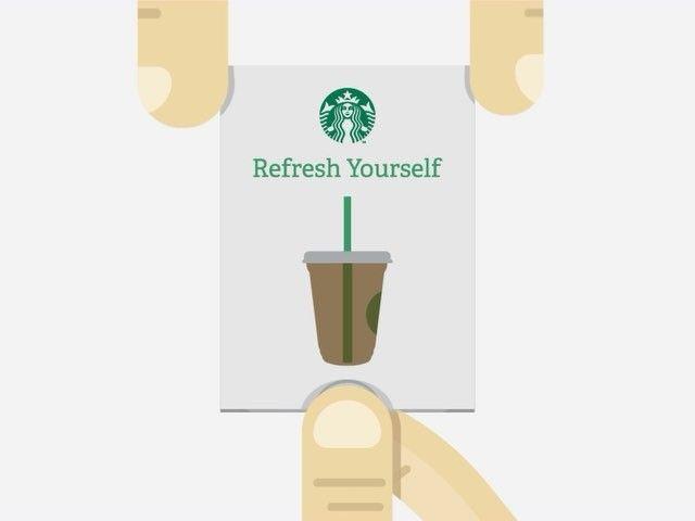 Starbucks Design Illustration Gift Cards