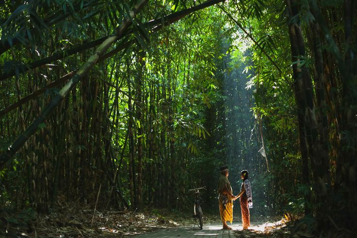 Balinese Traditional Pre Wedding Photography