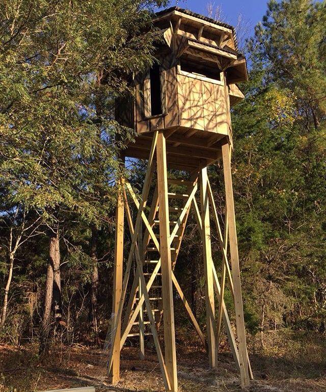 Elevated Blind Deer Hunting Blinds Hunting Stands