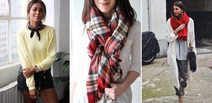 Schals und Tücher sind DIE Must-haves im Winter. Wir verraten euch, wie die Accessoires jetzt kombiniert werden und wie ihr eure Schals und Tücher stylisch binden könnt...