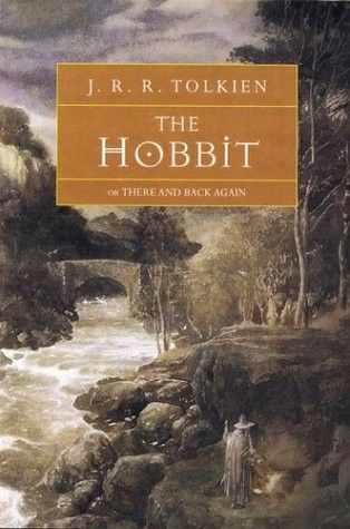 The Hobbit, and all the Lord of the Rings books! I was introduced to them by my art students while I was in college. Thank you, thank you, thank you!