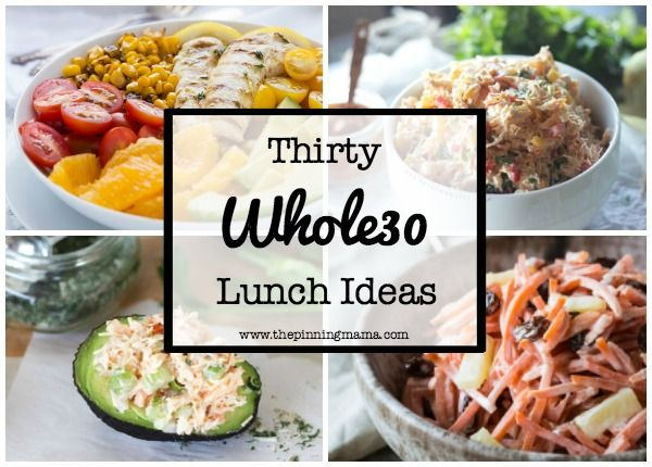 If you are following the Whole30 meal plan then you will definitely want a lot of variety for meals! Here are 30 Whole30 lunch ideas with everything from salads to wraps to warm and delicious soups…