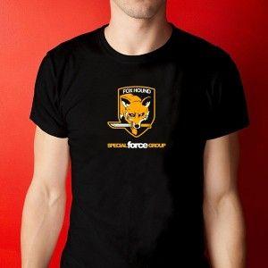 Tienda de Regalos originales UniversOriginal.com - T-Shirt / Camiseta Fox Hound - Metal Gear