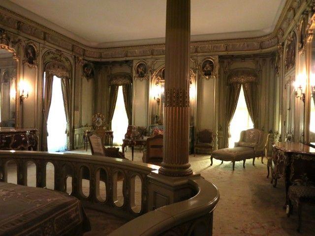 Louise Vanderbilt's boudoir bedroom, Vanderbilt Mansion Hyde Park, NY