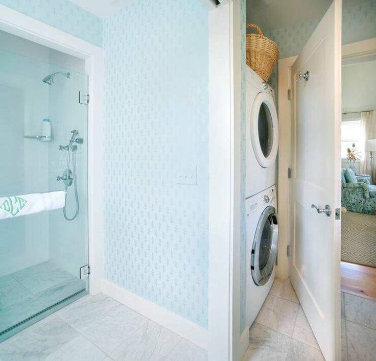 Bathroom Laundry Room Layout: Best 25+ Bath Laundry Combo Ideas On Pinterest