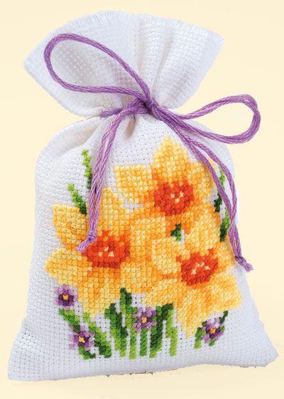 Potpourri zak: Gele lelies