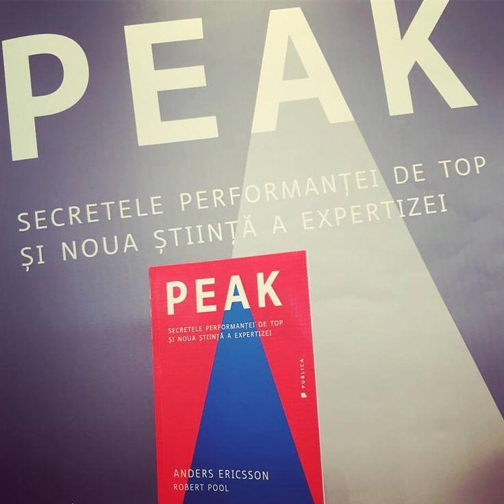 Secretele performanței de top și noua știință a expertizei: Peak, de Anders Ericsson și Robert Pool!  #romanianedition #peak