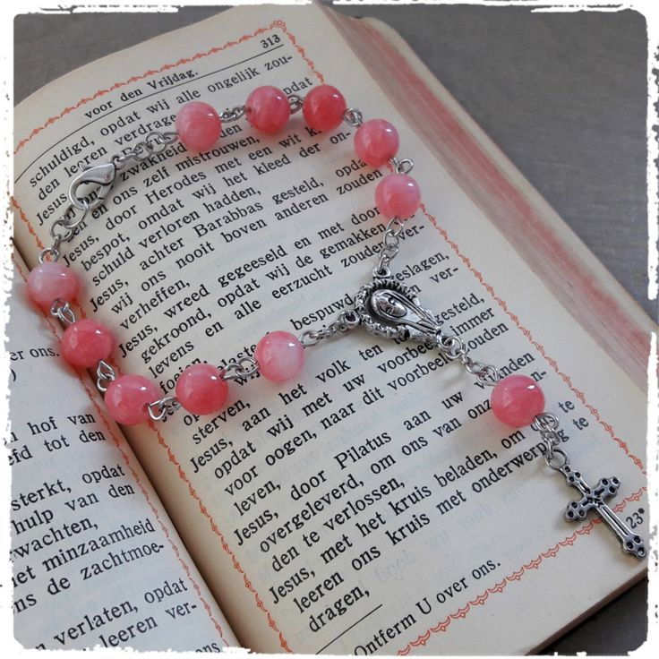 Mini rozenkrans  koraal roze