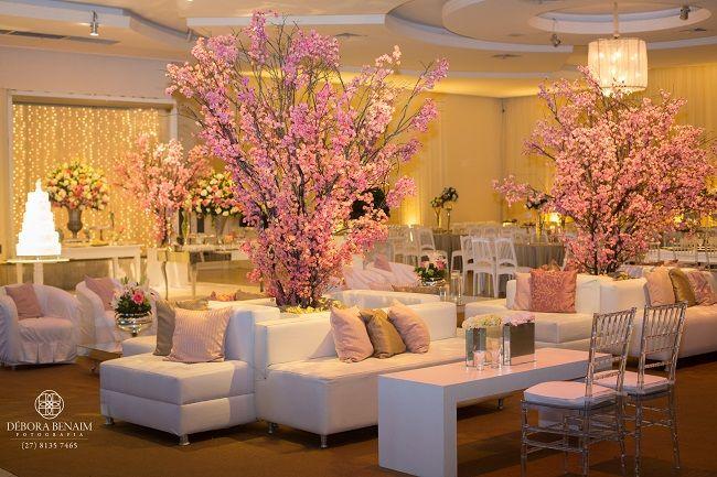 Resultado de imagem para decoração casamento rosa champagne