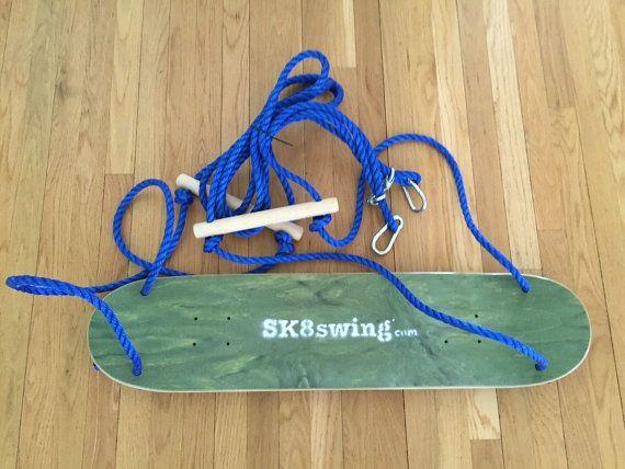 GREEN Sk8swing The original Skateboard swing  by skateswing