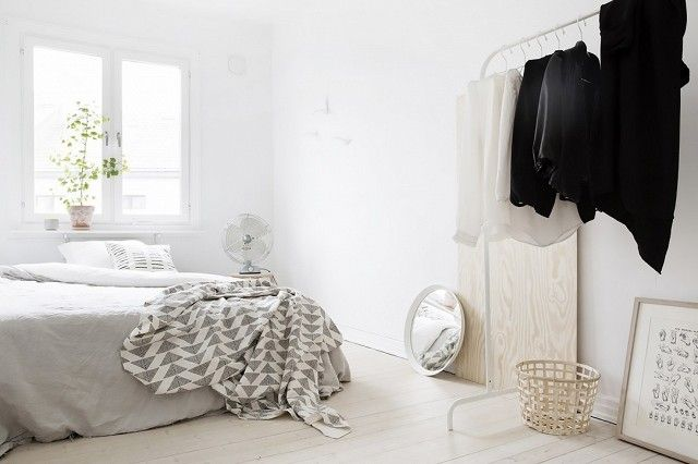 If you're not a fan of the black, white will blend seamlessly with the neutral hue of your room.