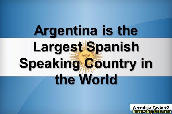 Argentina Facts # 3