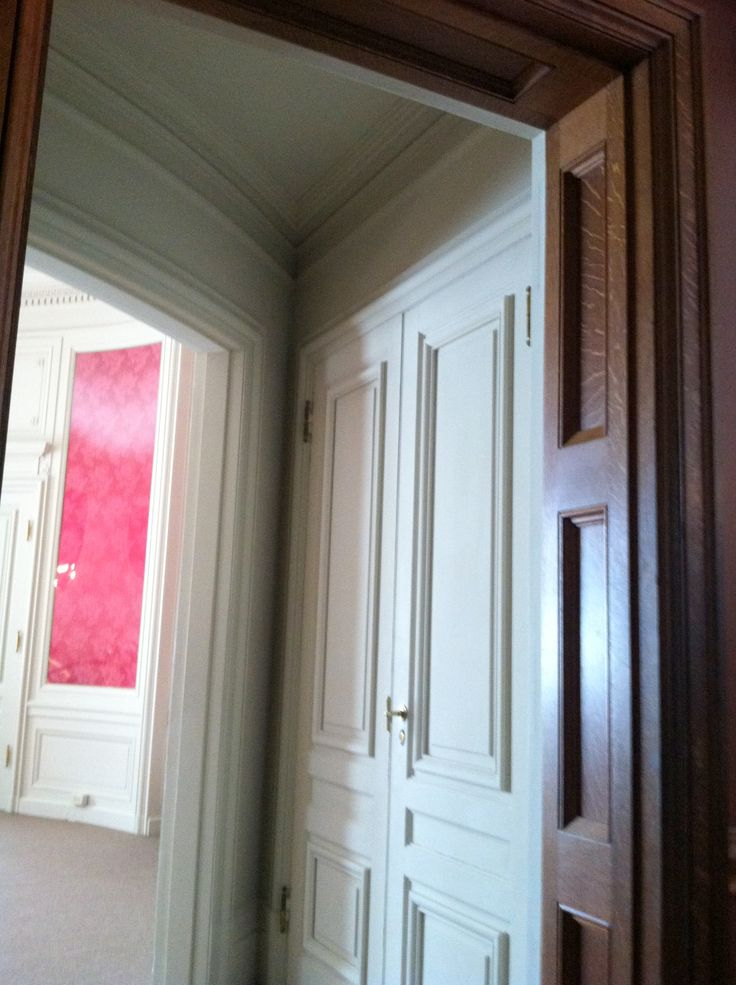 Biltmore House 2nd Floor Louis Xvi Doorway From Living Hall With Closets On Either Side