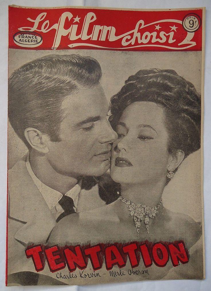 Merle Oberon Temptation LE Film Choisi Magazine   eBay