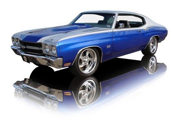 1970 Super Chevy Chevelle SS 454 4 Speed Show Car