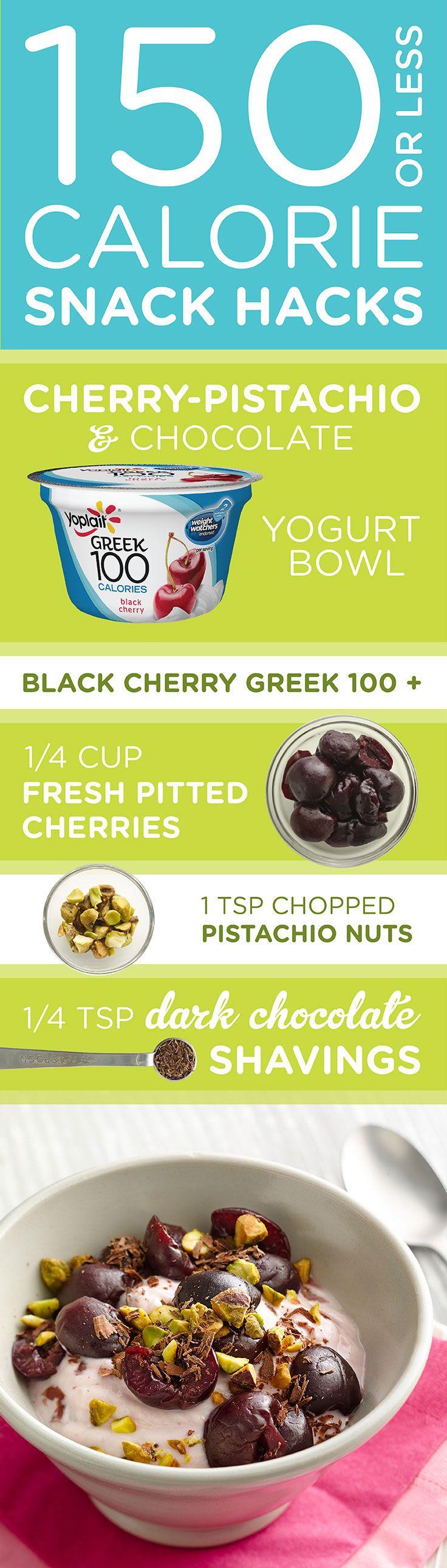 13 Best Images About Yoplait 150 Calorie Snack Hacks On