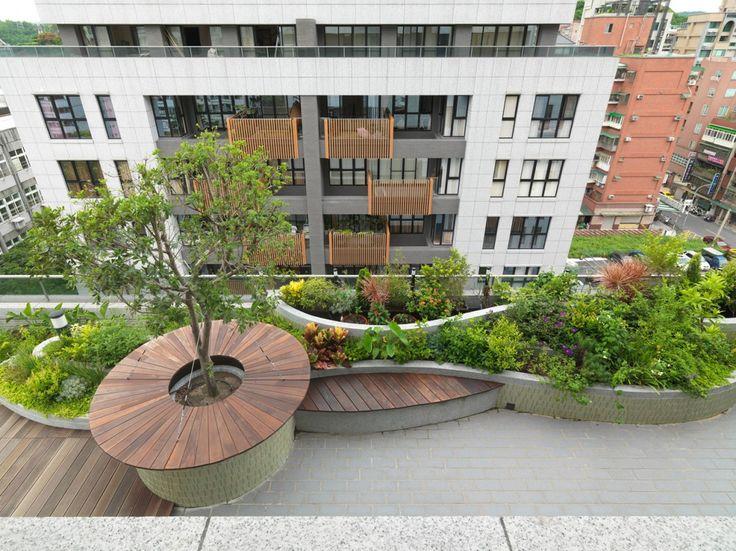 green roof graden
