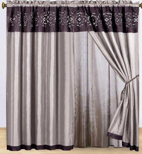 27 best Curtains images on Pinterest | Kitchen window ...