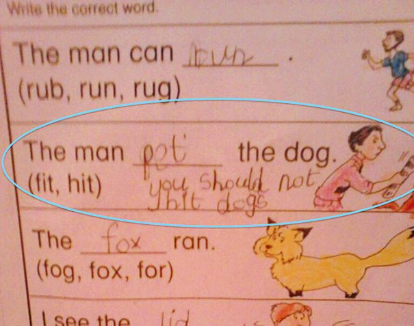 Best Funny Kids Homework Ideas On Pinterest Weird Facts - 16 hilarious exam answers from people who didnt know anything and didnt give a damn
