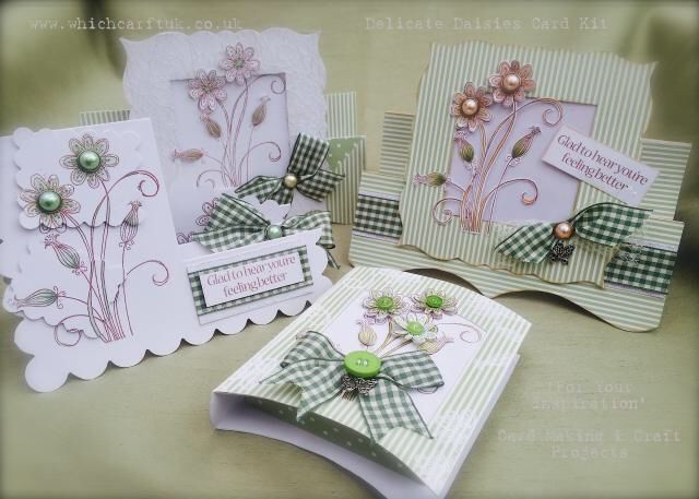 This is also what you can achieve with The Range of Blank Cards that Paula Designs, from Paula at Which Craft in Doncaster.