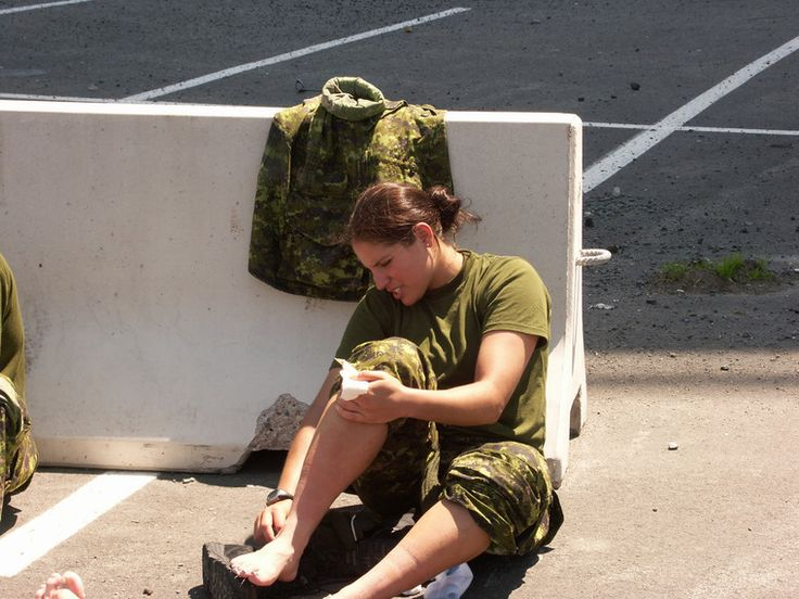 british army female feet