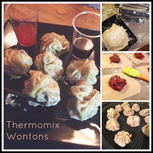 Thermomix Wonton Recipe | Keeper of the Kitchen