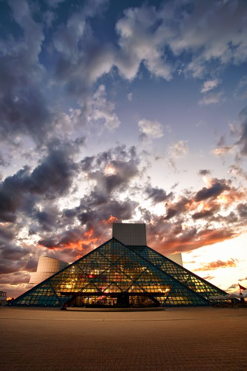 """Rock and Roll Hall of Fame; Cleveland, Ohio"" by Anthony Golston, via 500px."
