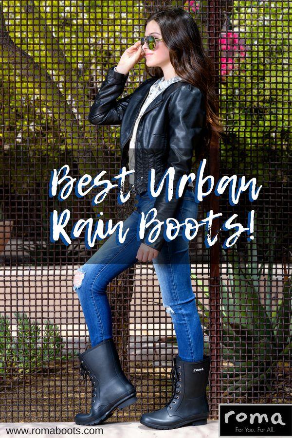 womens dressy rain boots