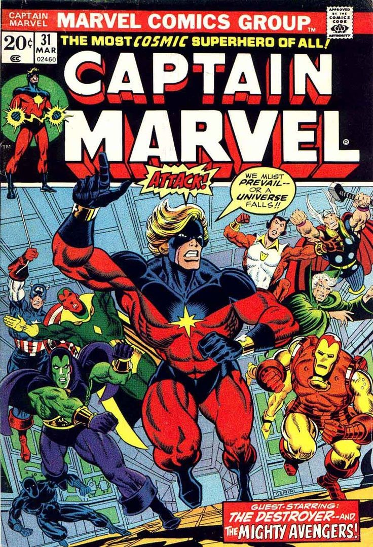 captain marvel comic book covers - Google Search