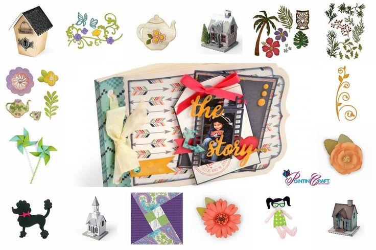 http://www.pointincraft.eu/it/ #creatività #creazione #progetto #progetti #fiore #fiori #palma #album #foto #casa #house #foglie #fustelle #casette #barboncino #fiocco #girandola #girandole #bamboline #bambolina #primavera #spring #pointincraft