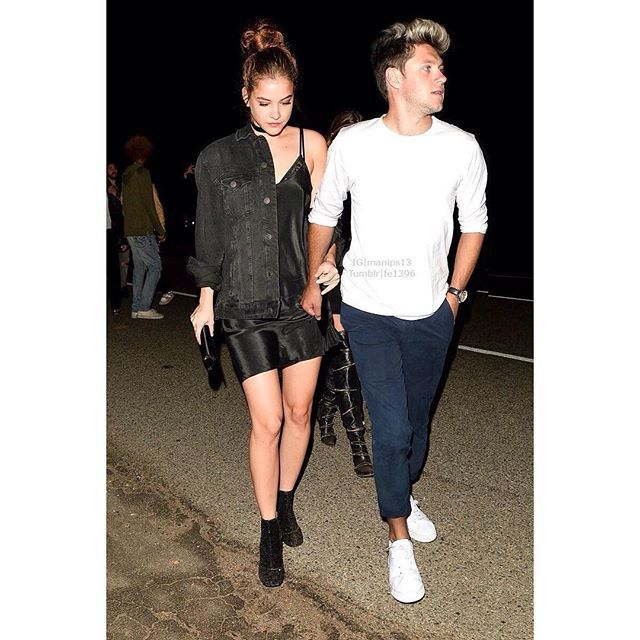 Barbara Palvin And Niall Horan Holding Hands