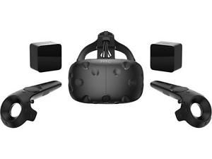 Vive is a first-of-its-kind virtual reality system. Let yourself be visually, physically and emotionally amazed by new virtual worlds filled with awe-inspiring characters, sights and sounds