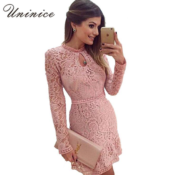 26 best vestidos de randas images on Pinterest | Lace dresses, Dress ...
