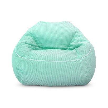 XL Corduroy Bean Bag Chair - Pillowfort™ - AQUAMINT