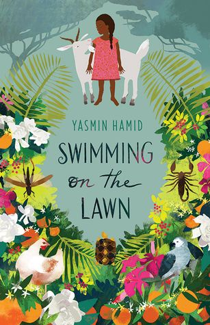 Swimming on the lawn by Yasmin Hamid