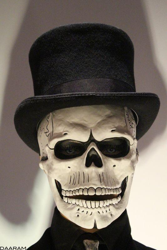 Party City Skeleton Mask