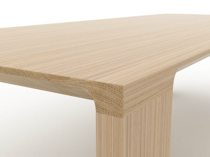 RADII Oak Table By BENSEN